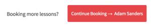 Continue Booking button
